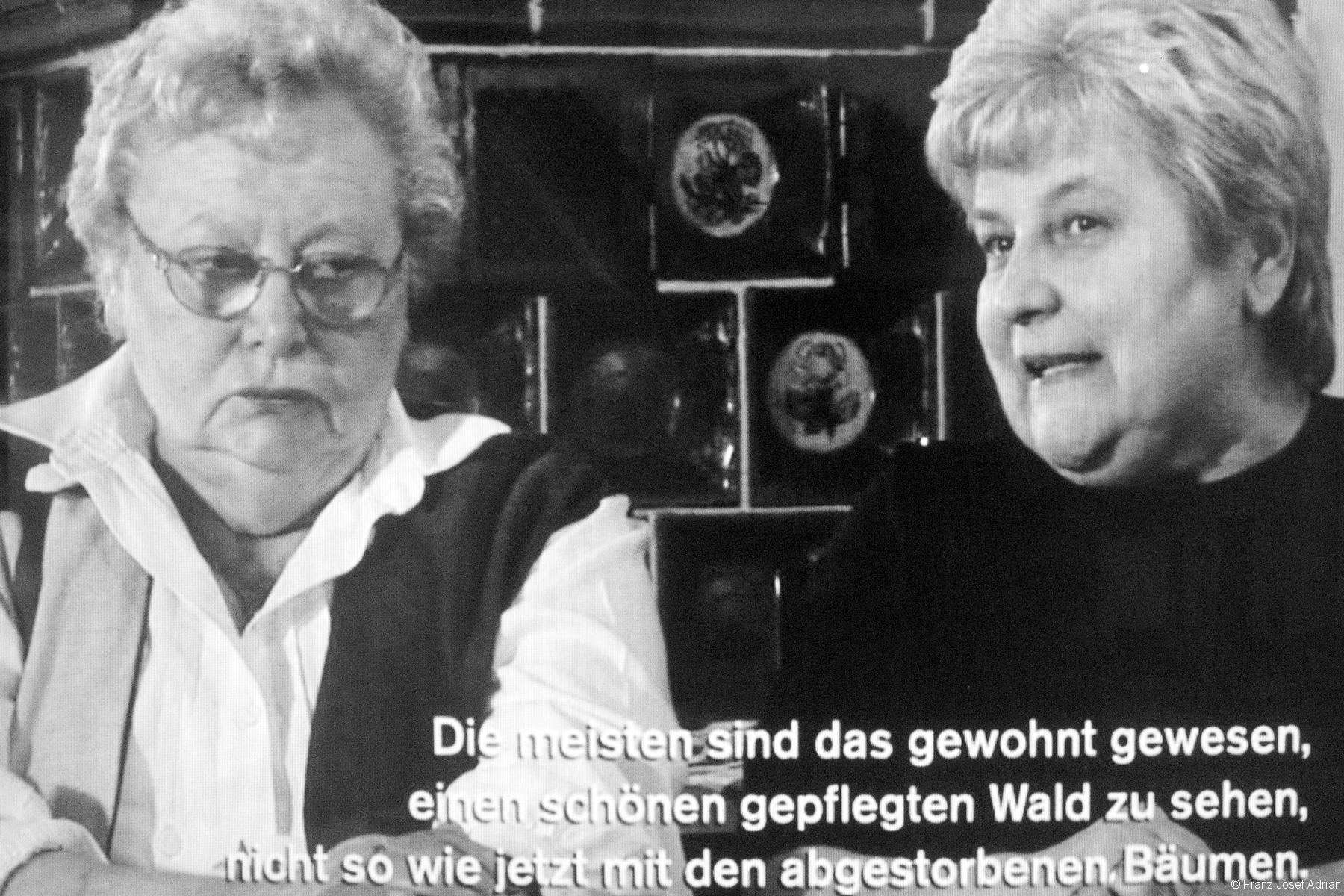 Therese Schreiner und Ilse Dankesreither