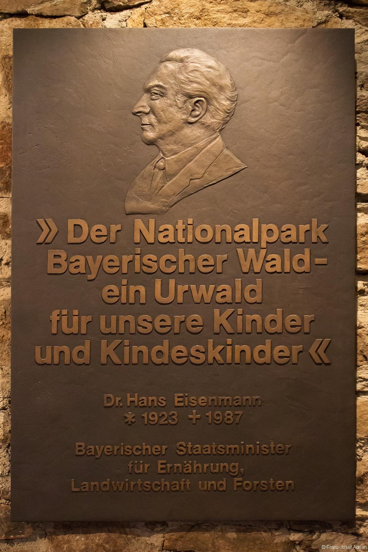 Gedenktafel für Hans Eisenmann