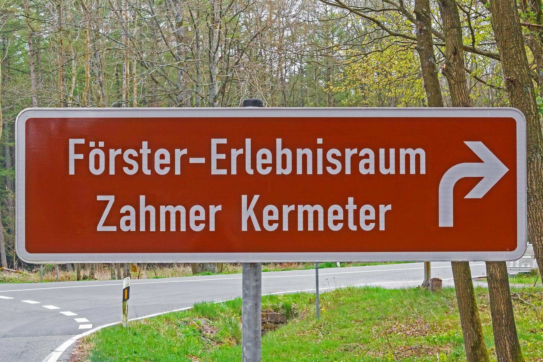 Förster-Erlebnisraum Zahmer Kermeter