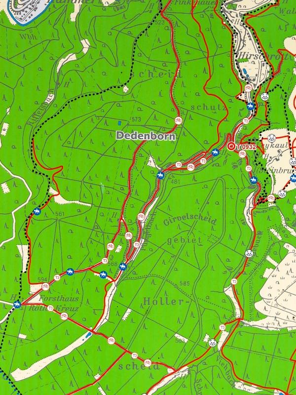 Karte Dedenborn