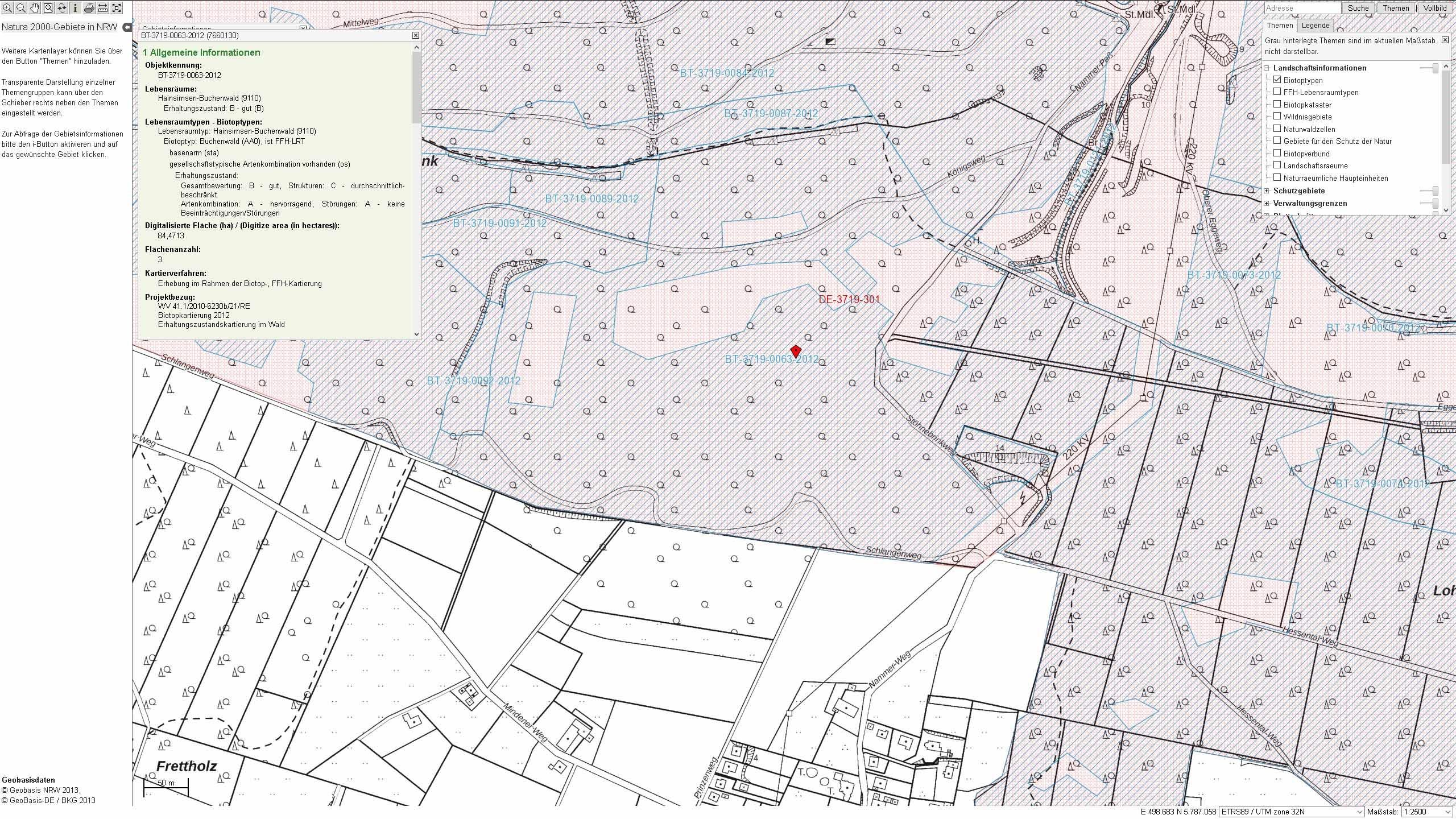 Biotoptyp BT--3719-0063-2012 im FFH-Gebiet Wälder bei Porta Westfalica