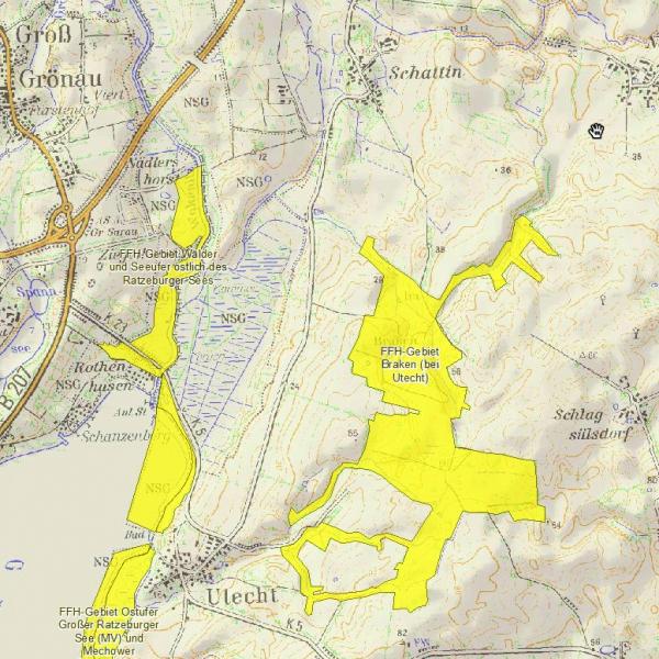 FFH-Gebiet Braken bei Utecht