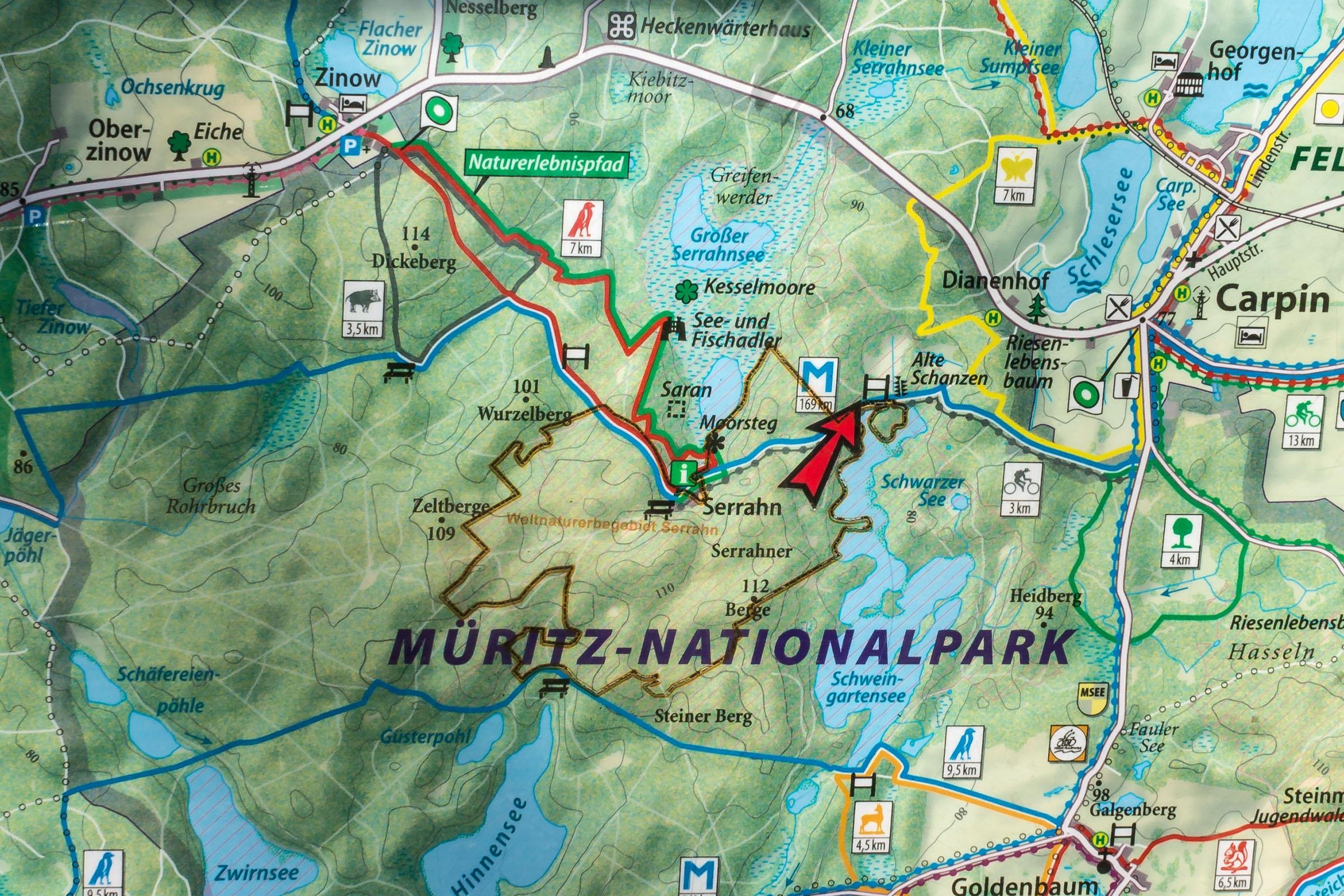 Karte_Serrahn