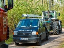 Transporter der Firma Siepmann
