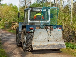 Forsttraktor der Firma Siepmann