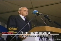 Bundespräsident Herzog fordert, das Holz liegenzulassen