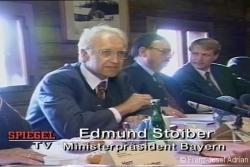 Ministerpräsident Stoiber ist für die Nationalparkerweiterung