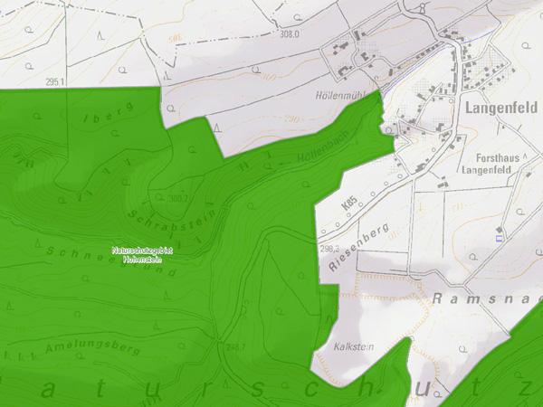 Karte des Ibergs