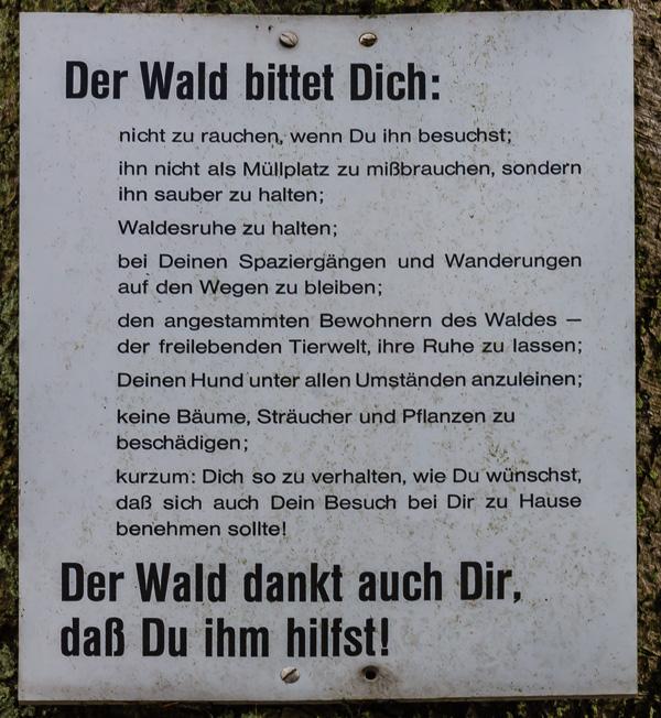 Schild_Wald