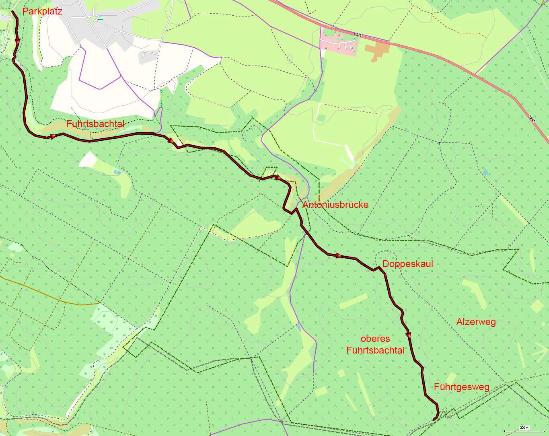 Fuhrtsbach_Oberlauf_Karte