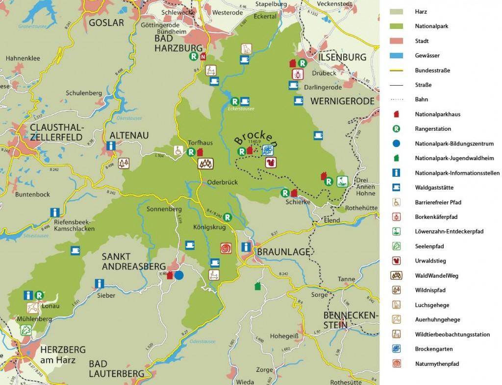 Karte_NP_Harz