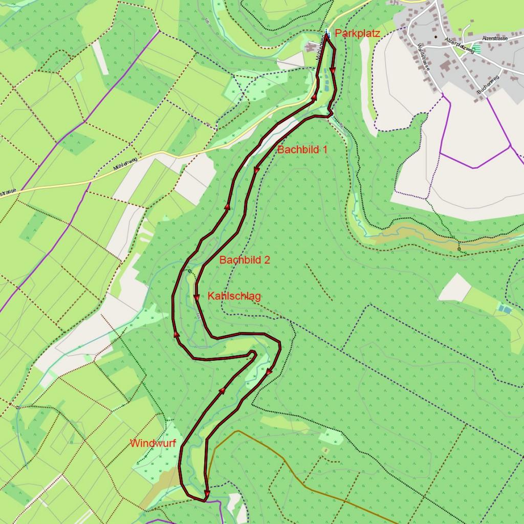 Perlenbach_Karte