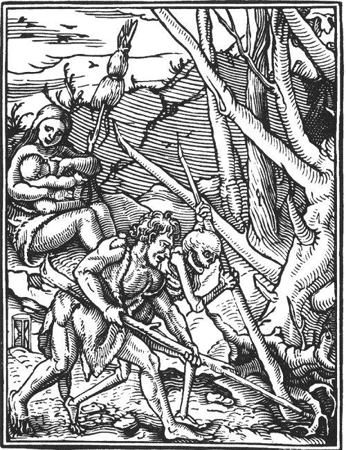Holbeins_Totentanz_Waldrodung