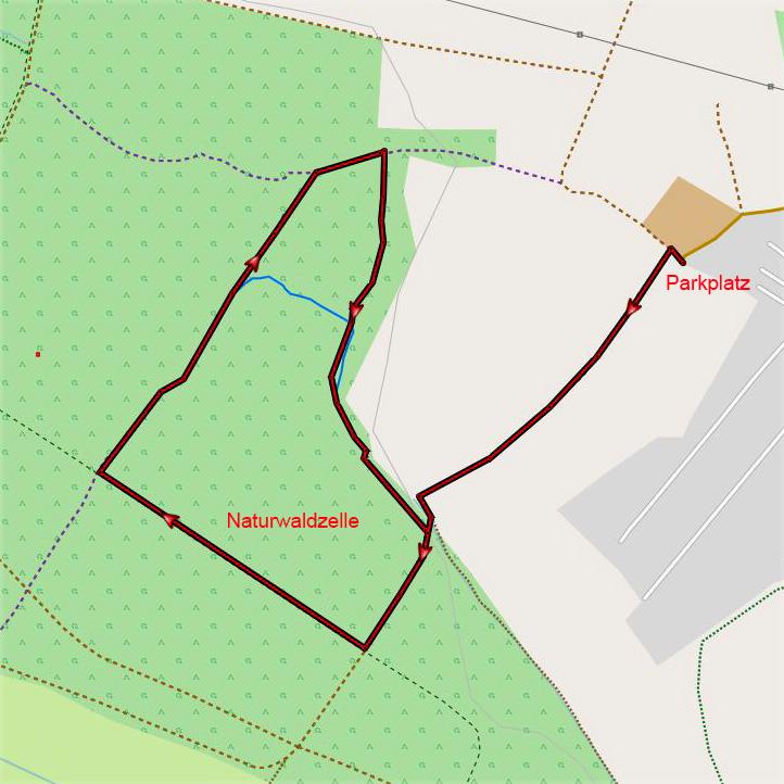 Niederkamp Karte
