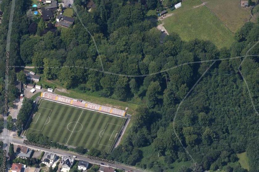 Satellitenbild Waldstadion