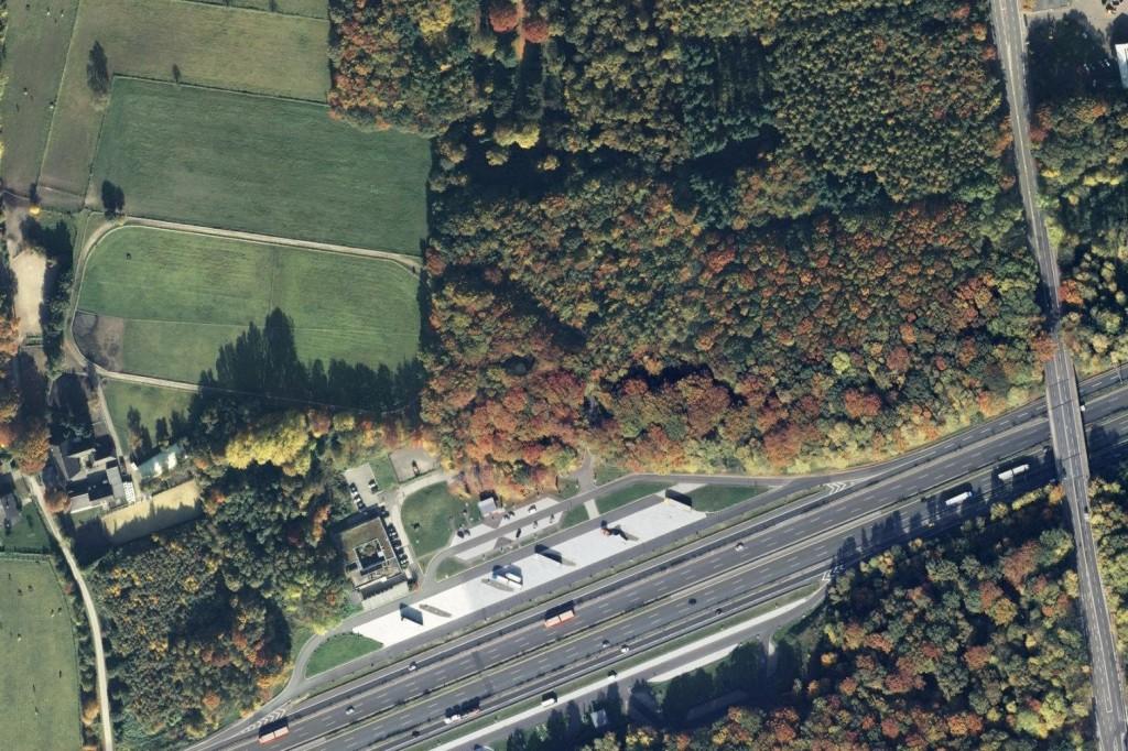 Luftbild Hohenhorst 2012